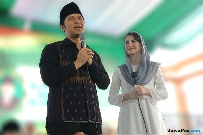 Doa Arumi Iringi Perjuangan Emil Dardak Di Pilgub Jatim