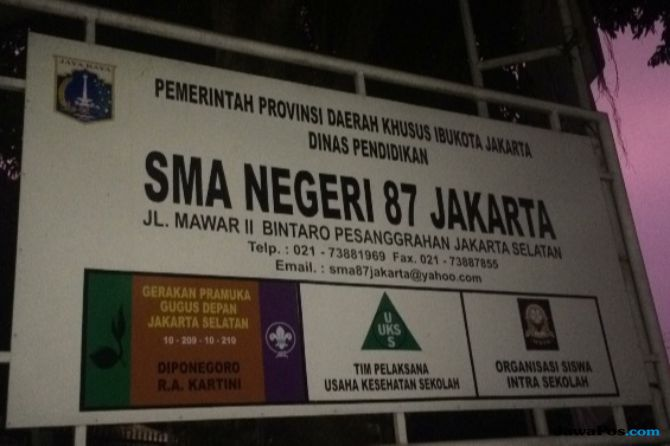 Doktrin Anti-Jokowi, Guru SMA 87 Sering Singgung Politik Saat Mengajar