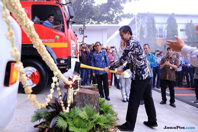 Domestic Fire Station Pertama di Asia Tenggara Dikelola Bandara Soetta