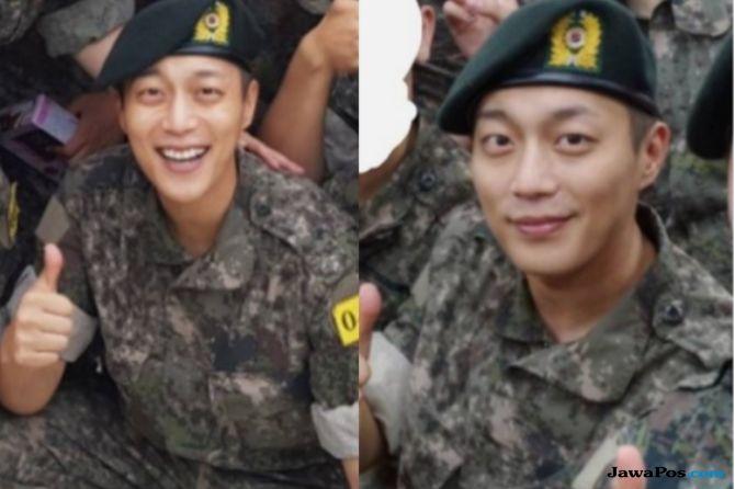 Doo Joon 'Highlight' Berhasil Selesaikan Pelatihan Dasar Militer