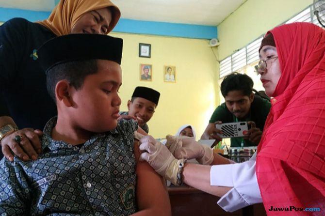 Dua Kabupaten di Sulsel Pesimististis Capai Target Pemberian Vaksin MR