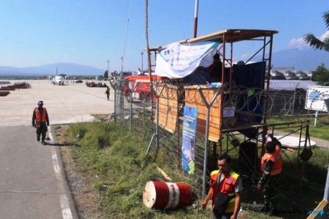 Dua Minggu Lagi, Pesawat Berbadan Besar Baru Dapat Mendarat di Palu