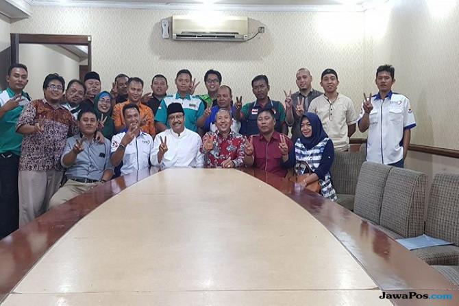 Dua PR  Dititipkan Para Buruh Jatim Pada  Gus Ipul