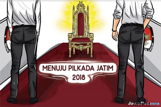 Ilustrasi Pilkada Jatim 2018