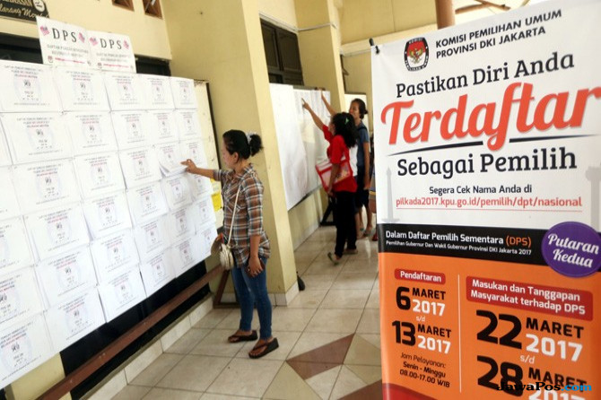 Dugaan DPT Ganda, Nih Hasil Pengeccekan KPU Kota