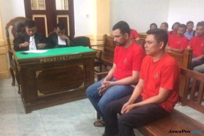 Duo Rompak 100 Kg Sabu Divonis Hukuman Mati