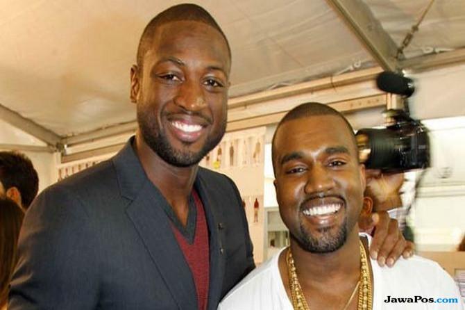 Dwyane Wade Ungkap Dua Lirik Rap Favorit dari Jay-Z dan Kanye West