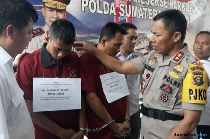 Edarkan Narkoba, Napi dan Oknum Sipir Rutan di Palembang Ditangkap