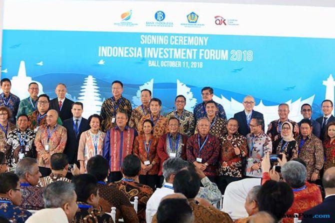 Empat Hari Pelaksanaan IMF-WB, Indonesia Kantongi Investasi Rp 202,5 T