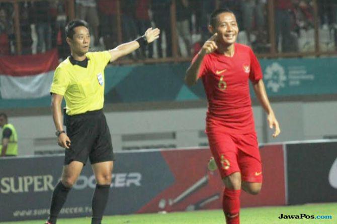 Timnas Indonesia, Mauritius, Indonesia 1-0 Mauritius, Evan Dimas