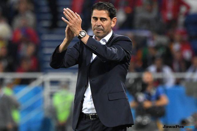 Timnas Spanyol, Piala Dunia 2018, Fernando Hierro