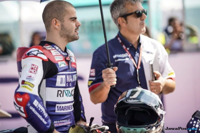 Moto2 2018, Romano Fenati, Stefano Menzi