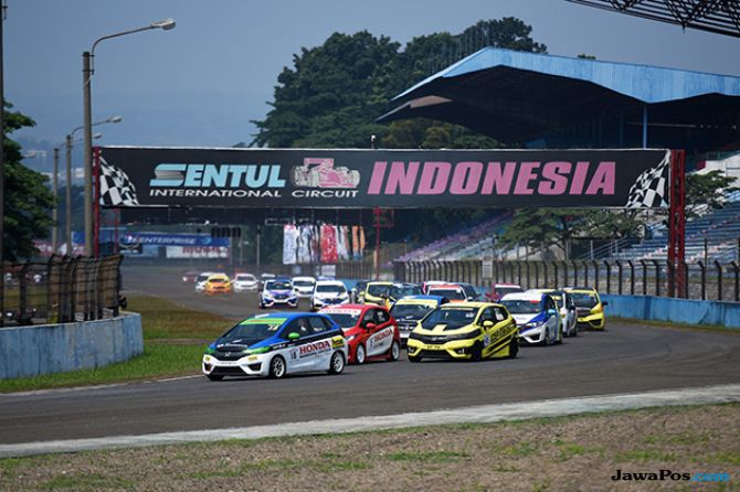 Fitra Eri Jawara Seri Ketiga Honda Jazz Speed Challenge