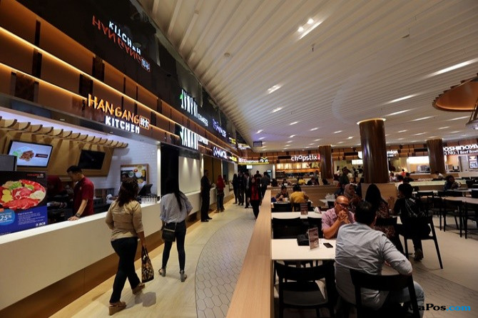 Food Court Plaza Senayan Hadir Kembali Dengan Nuansa Wayang