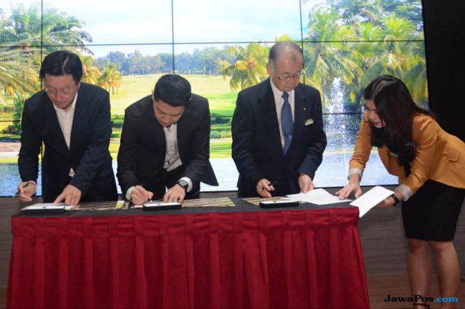 Gaet Dua Investor Jepang, Jababeka Bangun Golf Villa di Cikarang