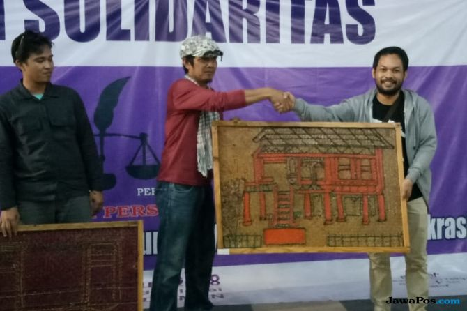 Galang Dana untuk LBH Pers, AJI Palembang Lelang Lukisan