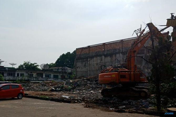 Gedung Eks Bioskop Cineplax Dibongkar untuk Parkir Asian Games