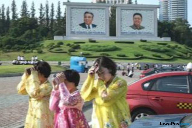 Gelombang Panas Ancam Lahan Pertanian Korea Utara