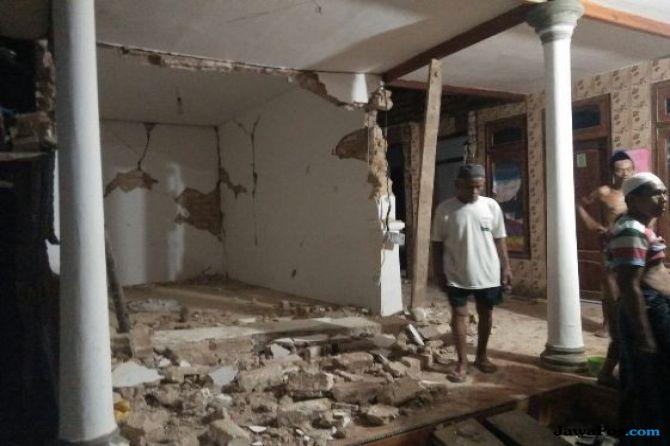 Gempa Sumenep 5 Detik Akibatkan 6 Luka-luka dan 77 Bangunan Rusak