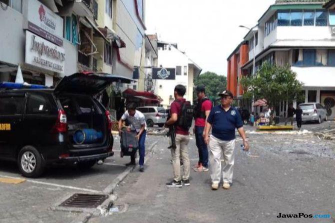 Getaran Ledakan di Ruko Grand Wijaya Berasa Sampai 60 Meter