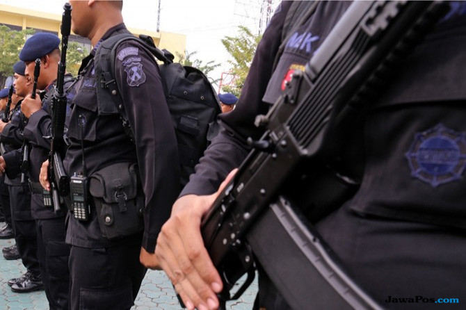 Giliran Kantor Polsek Ditembaki Kelompok Kriminal Bersenjata Papua