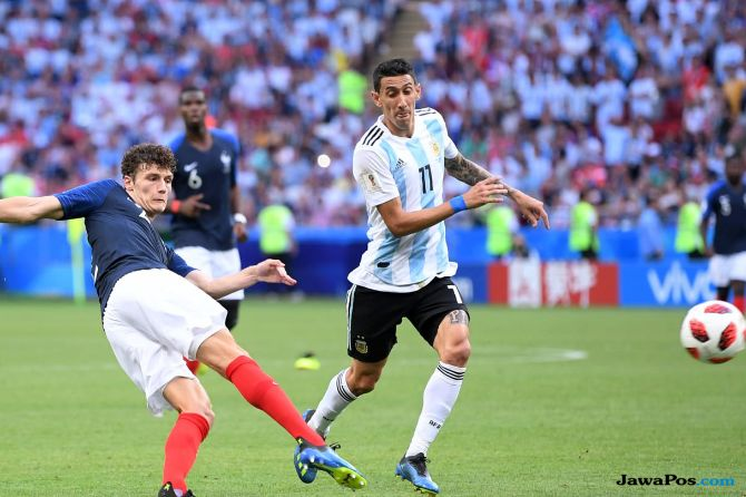 Benjamin Pavard, Timnas Prancis, Timnas Argentina, Piala Dunia 2018