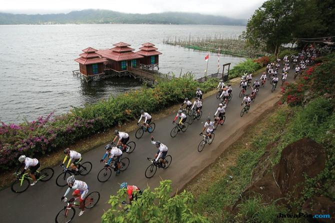 Gran Fondo Terbesar di Luar Jawa