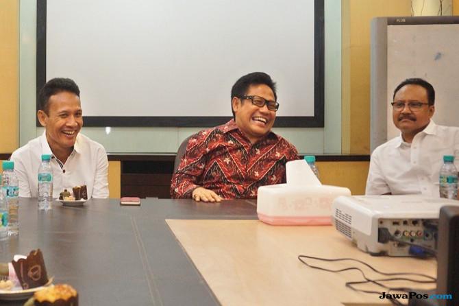 Gus Ipul Menunggu Pasangan, Khofifah Bangun Konsolidasi