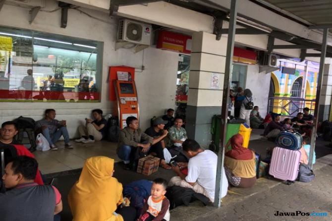 H-1 Lebaran, 45.448 Pemudik Dari Jakarta Berangkat Gunakan Kereta Api
