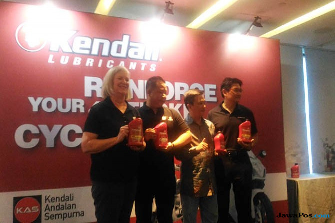 Hari Ini, Kendall Motorcycle Oil Resmi Dipasarkan Di Indonesia