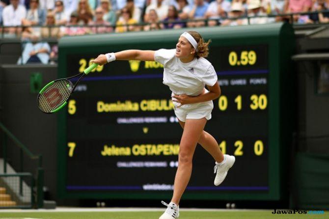 Wimbledon 2018, Semifinal Jelena Ostapenko, Angelique Kerber, Julia Goerges, Serena Williams