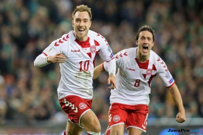 Timnas Denmark, Timnas Rep Irlandia, Play-off Piala Dunia 2018, Piala Dunia 2018