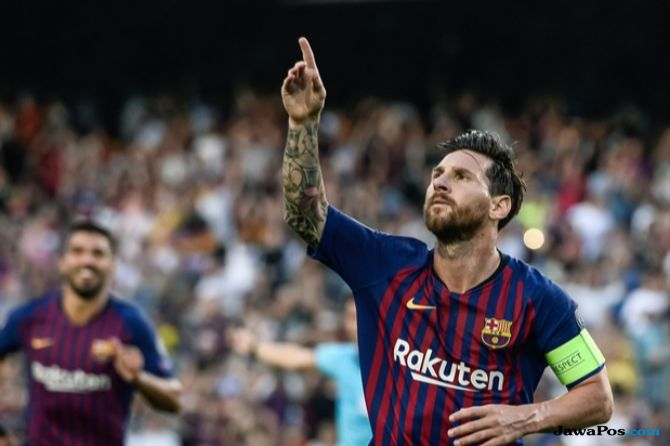 Liga Champions, Barcelona, Lionel Messi