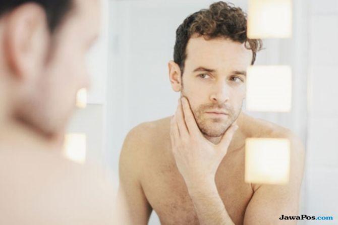 kulit berminyak, cara arasi kulit berminyak, perawatan kulit pria,