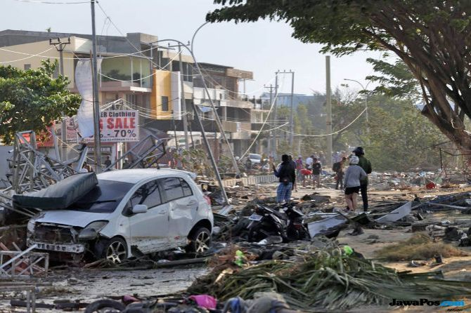 HuntaraBagi Korban Bencana Sulteng Diperkirakan 5.000 UnitLebih