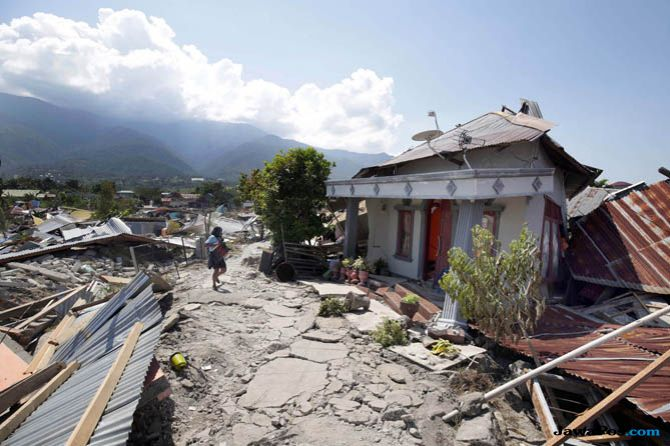 Gempa sulawesi tengah, gempa palu, galang dana korban sulteng