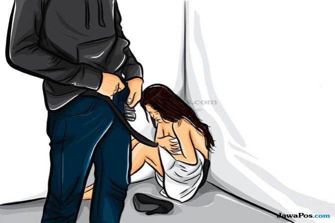 pemerkosaan, ibu muda diperkosa, celana dalam tertukar