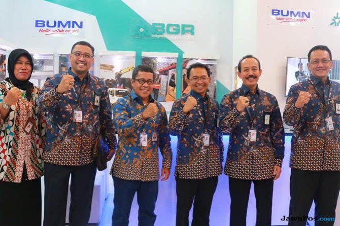 Ikut Pameran BUMN IBDExpo 2018, PT BGR Kenalkan Bisnis Logistik