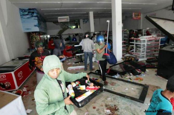 Ini Daftar Toko Ritel Yang Jadi Korban Penjarahan Pasca Gempa Palu