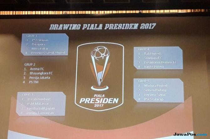 Ini Jadwal Lengkap dan Siaran TV Piala Presiden 2017