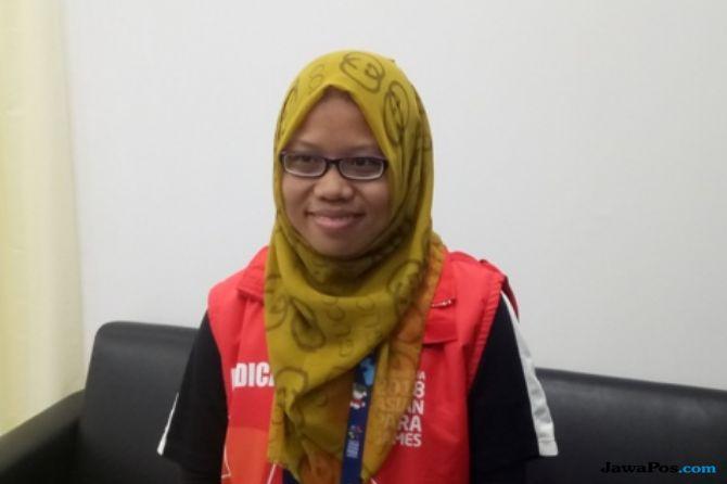 Asian Para Games 2018, INAPGOC, Kemenpora, Indonesia, fisioterapis, Ayu Rahmayana