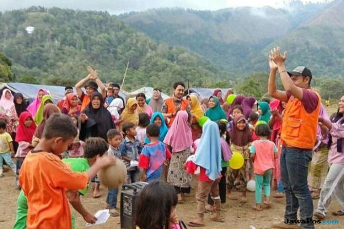 Ini Tantangan UMM Selama Membantu Korban Gempa Lombok