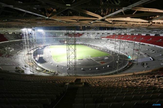 Timnas Indonesia, SUGBK, Stadion Utama Gelora Bung karno, Timnas Islandia,