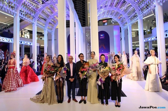 Inspirasi Dulux Ambiance™ Tertuang Dalam Busana di Fashion Nation