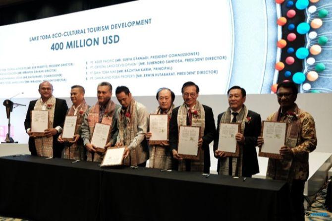 Investor Kucurkan Rp 6,1 Triliun Untuk Pengembangan Danau Toba