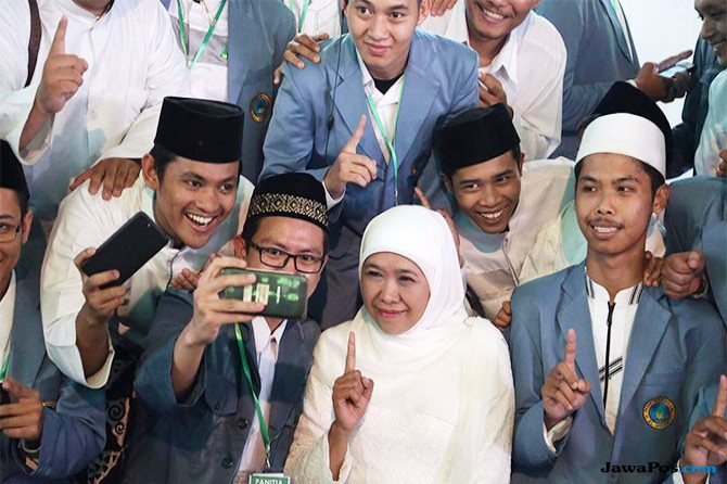 Istri KH Hasyim Muzadi: Khofifah Penuhi Syarat Jadi Gubernur Jatim