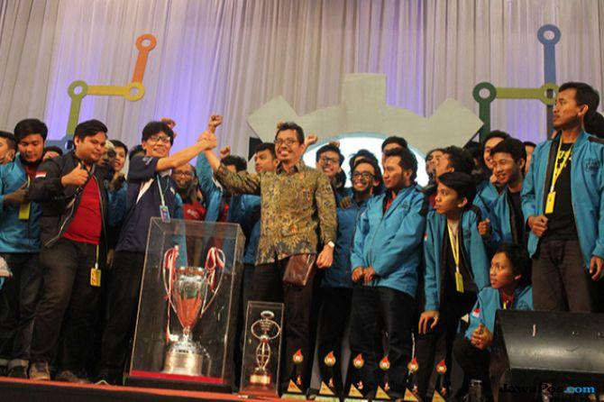 Kontes Robot Indonesia 2018