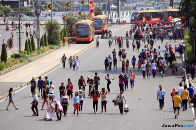 Jadi Rute Marathon Asian Games, Tak Ada CFD Minggu Ini