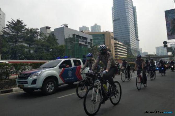 Jakarta Belum Punya Jalur Sepeda, Kakorlantas Kesulitan Melintas