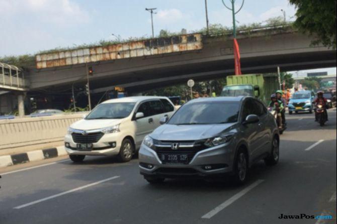 Jalan HR Rasuna Said Jadi Lokasi Terbanyak Pelanggaran Ganjil Genap